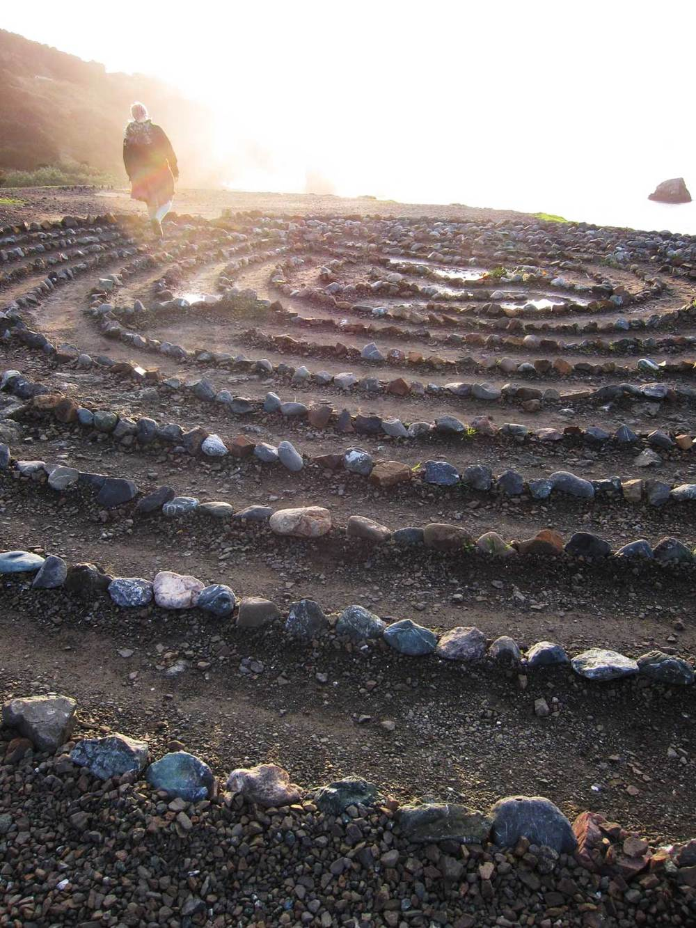 The Labyrinth at Land's End, S.F.