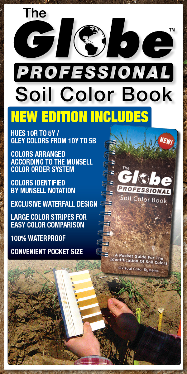 THE GLOBE PROFESSIONAL SOIL COLOR BOOK