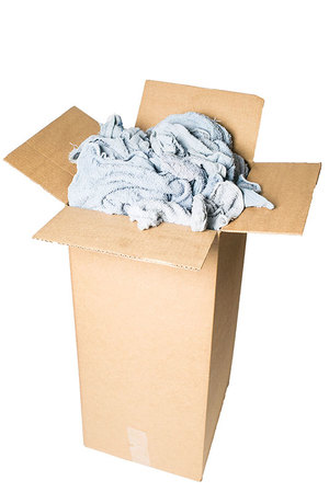 blue rags 20lb box - Box Of Rags