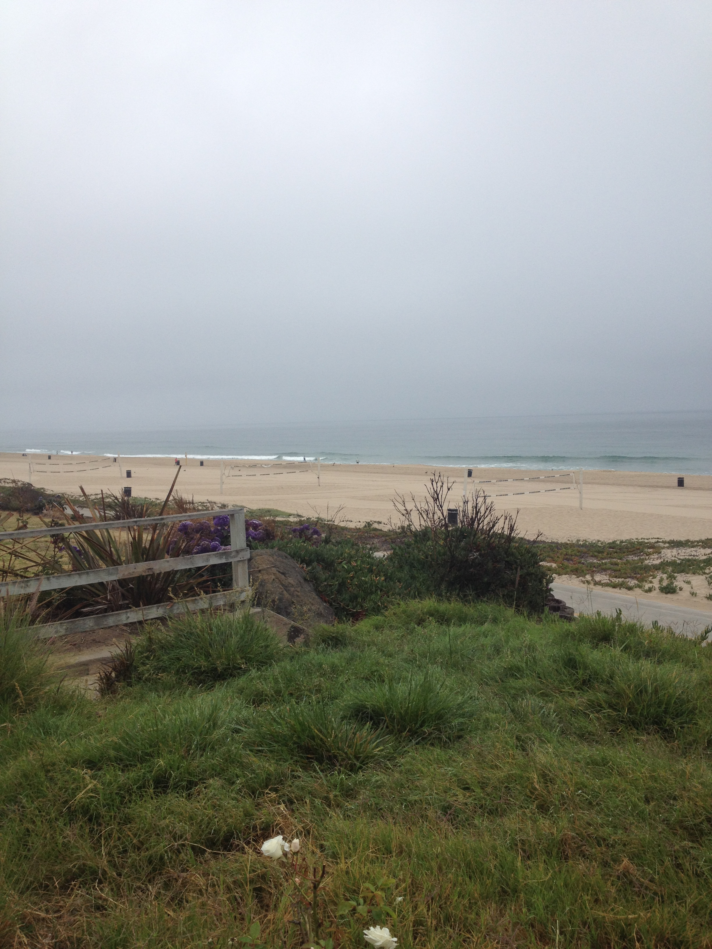 Even a cloudy day at the beach is a good day!