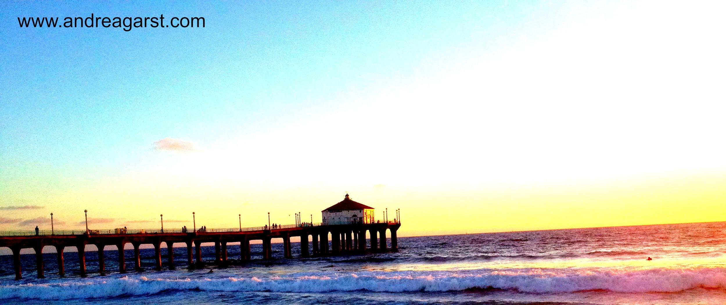 sunset pier 9.19.14