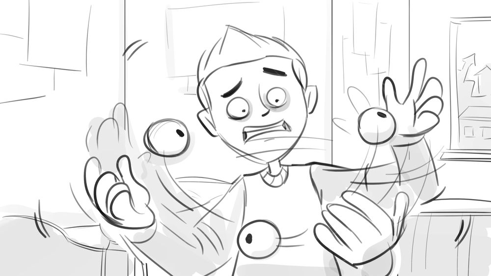 'Scream Street' - 2014-2016 - Storyboarding