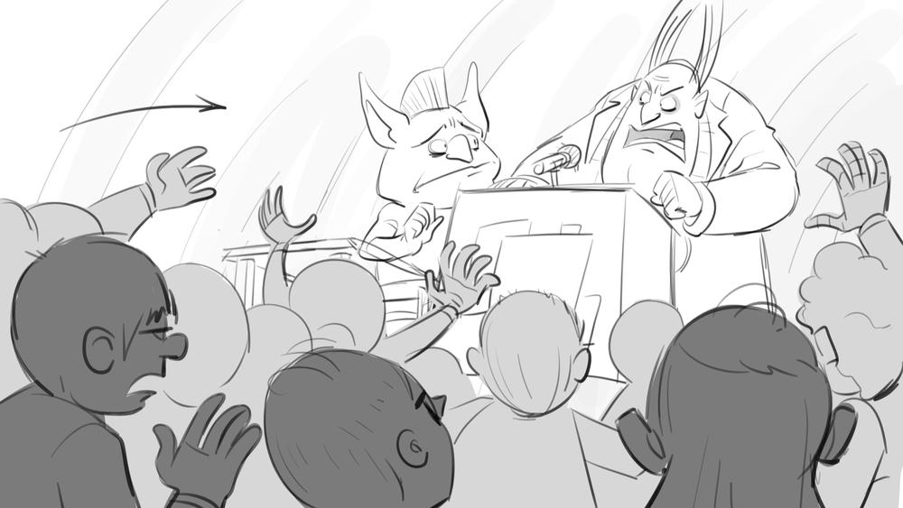 'Scream Street' - 2014-2016 - Storyboarding