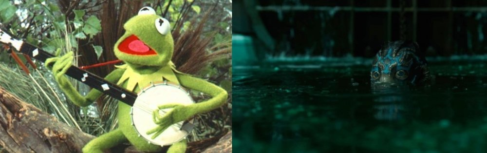 It's not easy being green, Kermit famously sang. Or amphibious.