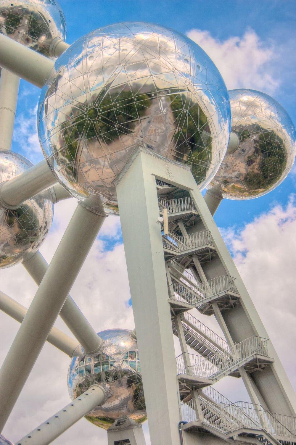 Das Atomium - Wahrzeichen der Expo 58