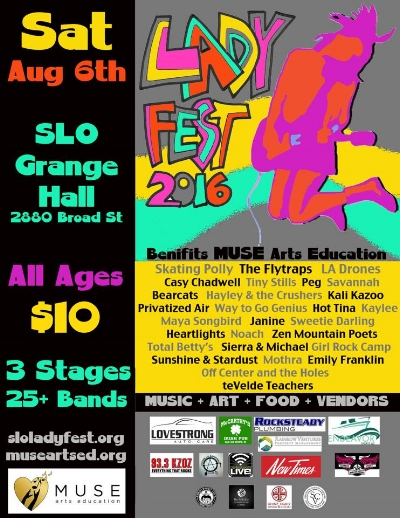 Learn more about Ladyfest at the Facebook Page,  here