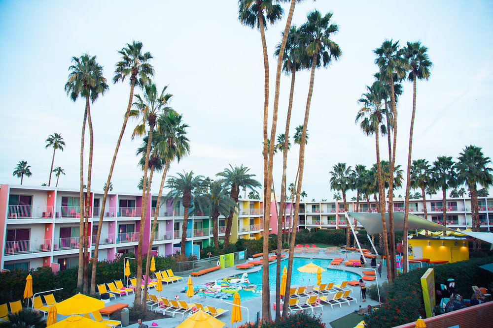 The conference was at the saguaro in palm springs, making the opportunity pretty difficult to turn down. Photo by Jason Hackworth