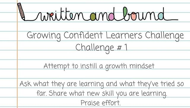 Did you join our challenge this week? You can still join! Link in profile. 👆Today we focused on helping our kids attain a growth mindset. What strategies do you use to help your kid maintain confidence when they learn something new? I'm trying to lead by example. I'm not the sportiest or most athletic person, to say the least. 😉🤓But I've been trying @sessionpilates lately to take better care of myself.🤸‍♀️ So I talk with my kids about what I'm learning and how I can work to improve. Any things you are trying to model a growth mindset or encourage your kids?