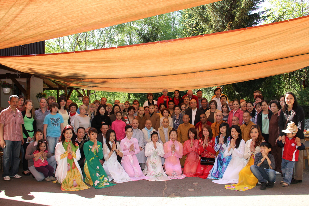 Internationales Buddhistisches Sommerlager, Juli 2014