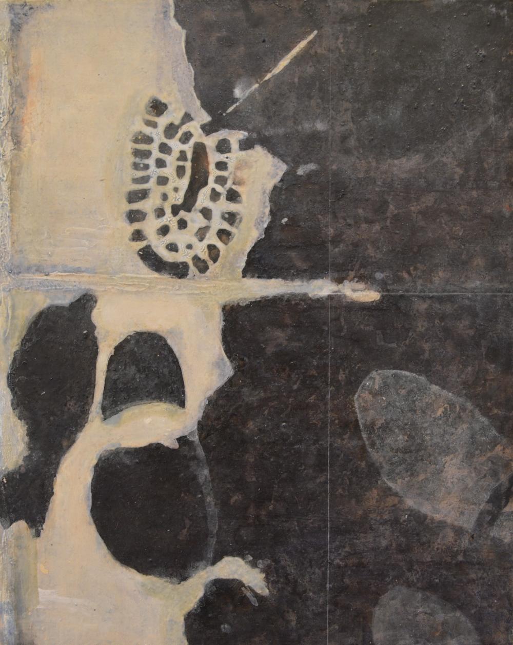 "Pause , Oil on Panel, 20 x 16"", 2015"