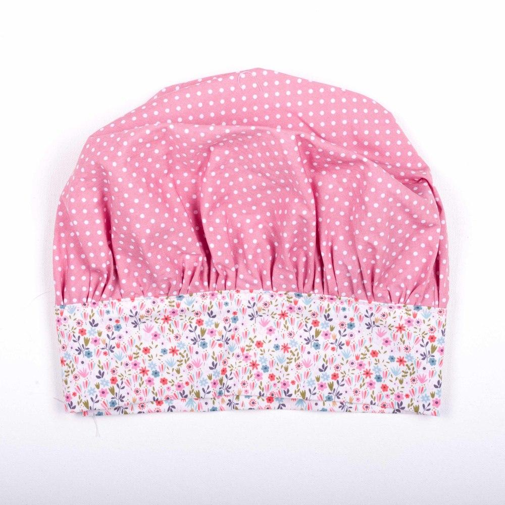 Skoo KidsKitchen Pink Floral Print Chefs Hat