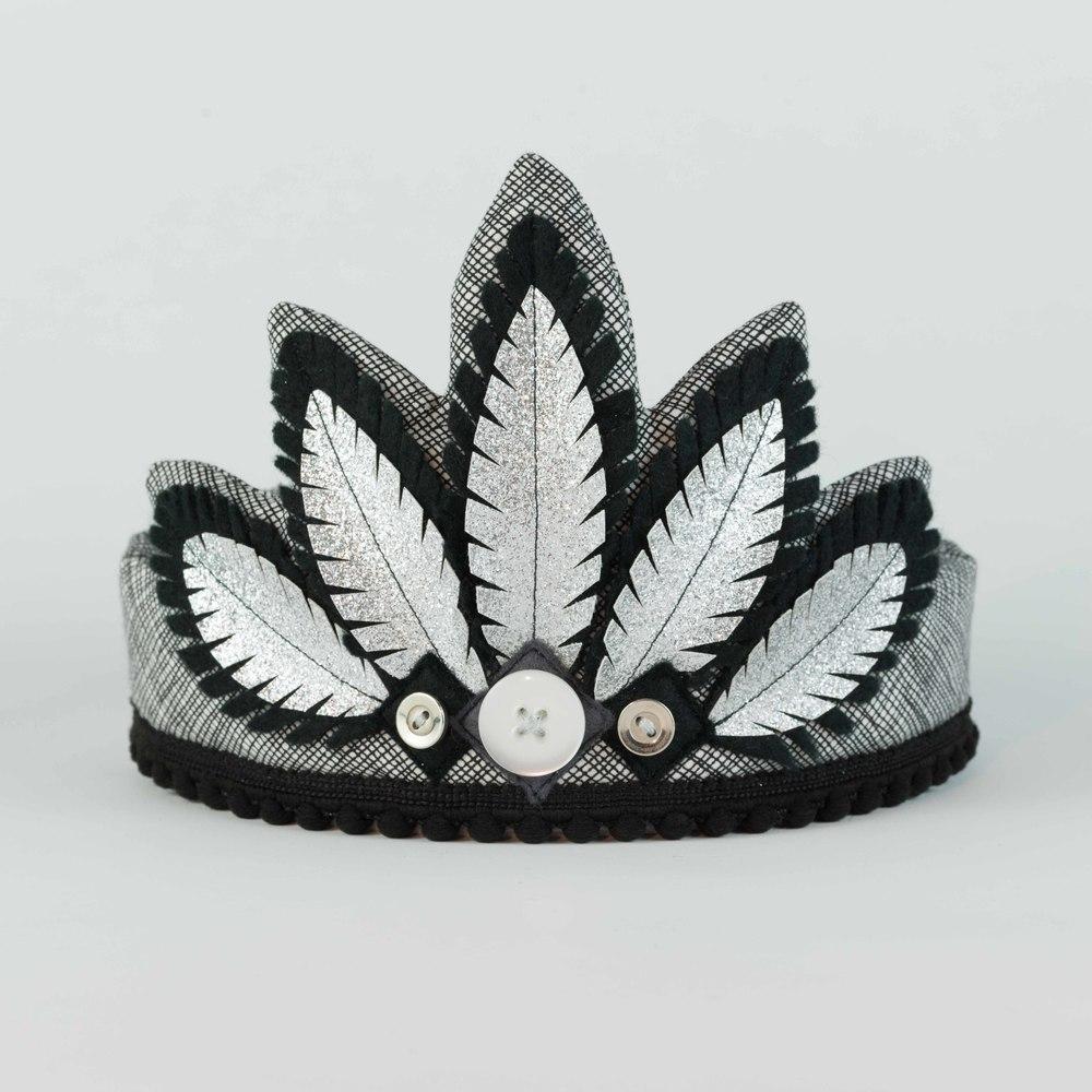 Black & Silver Headdress