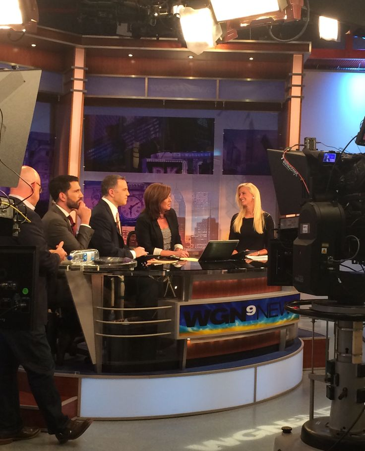 WGN-TV talking Holiday Getaways