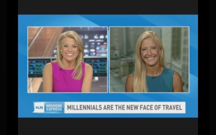 Covering Millennials and Travel on CNN/HLN