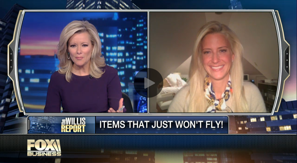 FOX Business interview on TSA Regulations