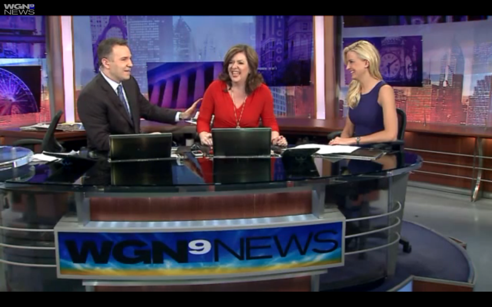 Talking Travel Trends Getaways on WGN-TV