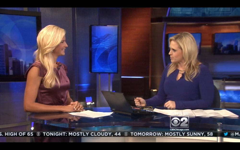 On CBS Chicago talking about cruises and holiday travel