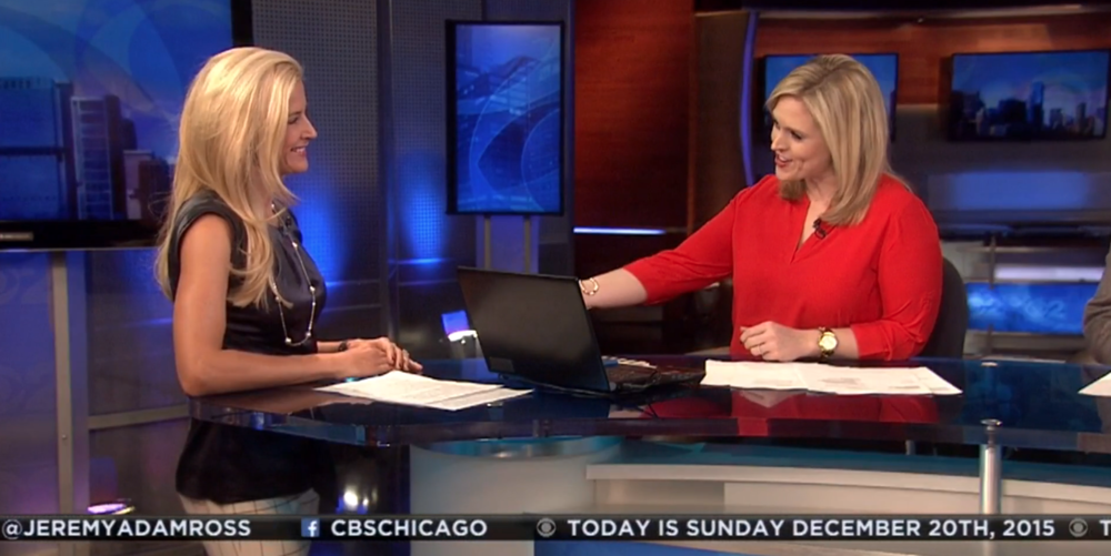 Discussing post-holiday travel deals on CBS Chicago