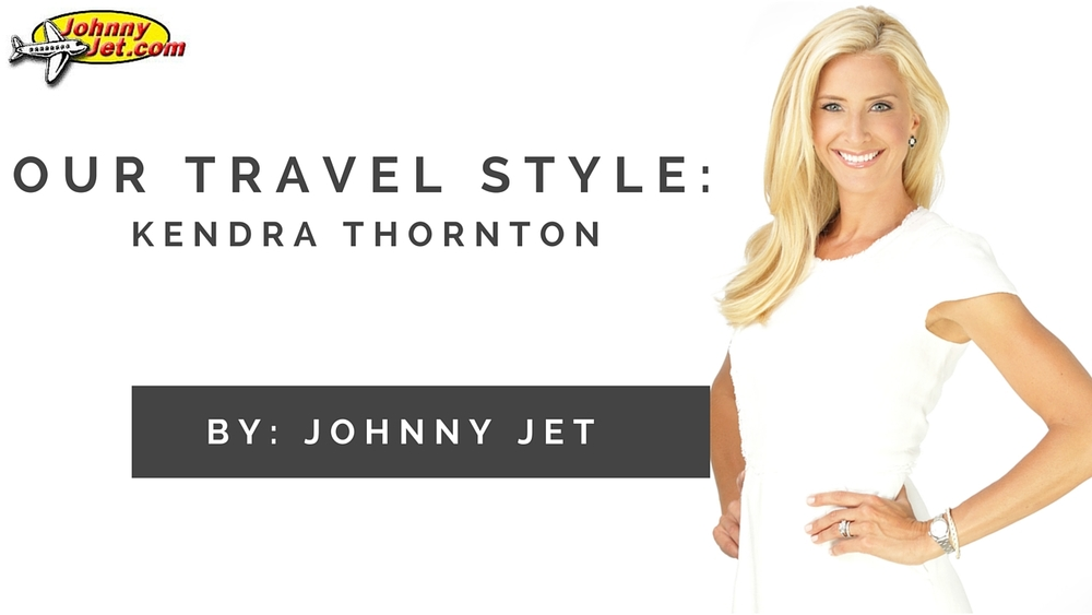 I gave Johnny Jet the inside scoop on how to keep in style while traveling