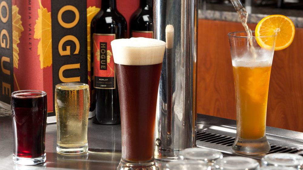 BurgerMonger Beer Wine