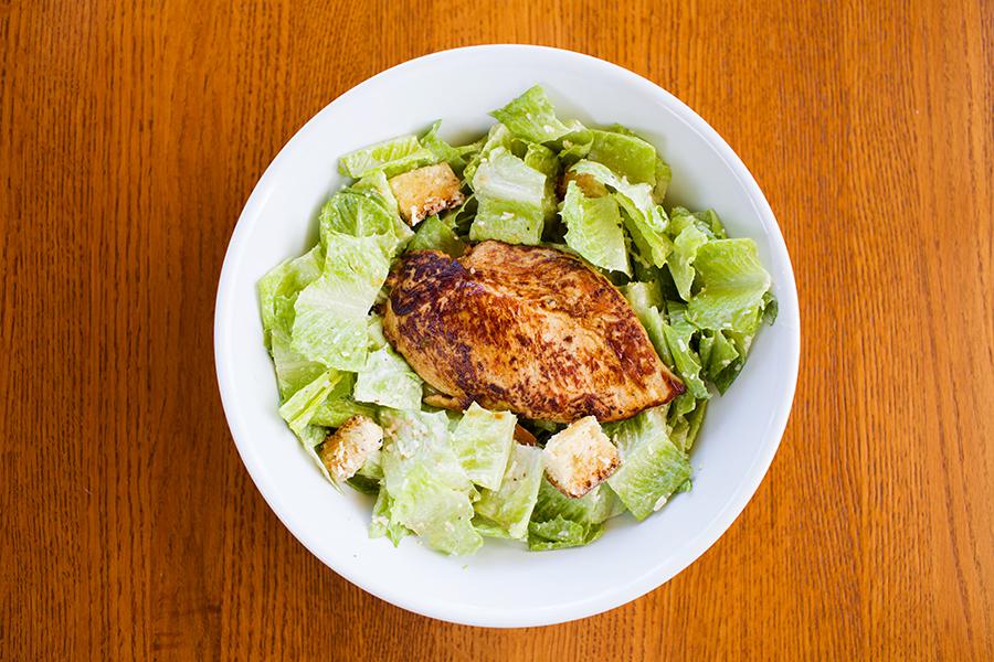 BurgerMonger Caesar Salad Grilled Chicken