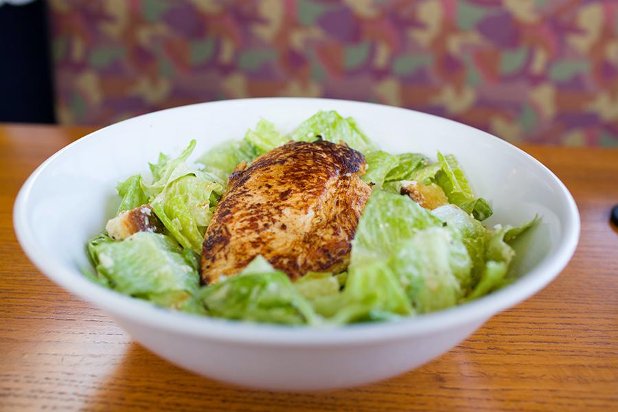 Caesar Salad Grilled Chicken