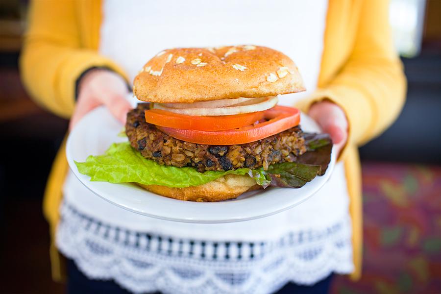 BurgerMonger Veggie Burger