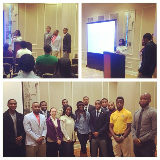 Tonight at the Omegas Against Domestic Violence program. It was a very heart warming and touching program that the young bruhz put on. We want to thank our three speakers LaQueda Ricks, Jian Massucco, and Sheneyce Tippen for the encouraging words and wisdom on the domestic Violence issue. We hope that this troubling issue was brought clearly to the light. #omegaweek