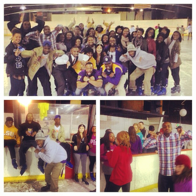 Last night for Bruhz on Ice. We appreciate you all coming owt. It was a first time experience for many of us. Many falls. I'm sure everyone is sore. Hope to see you all tomorrow for church at New Gideon.