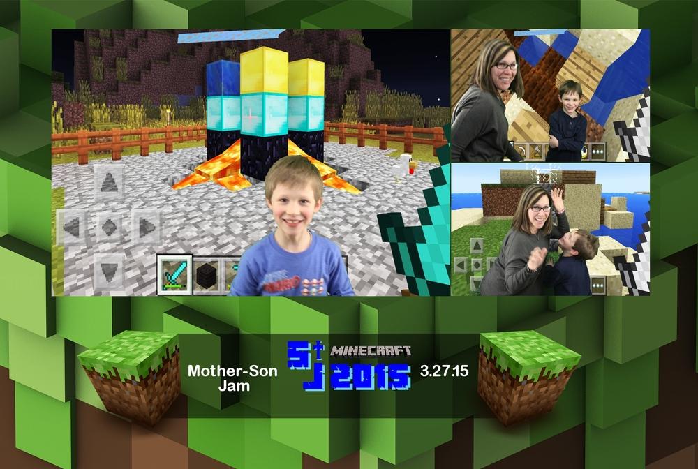 Saint Joseph Avon Lake Mother-Son Minecraft Jam 2015