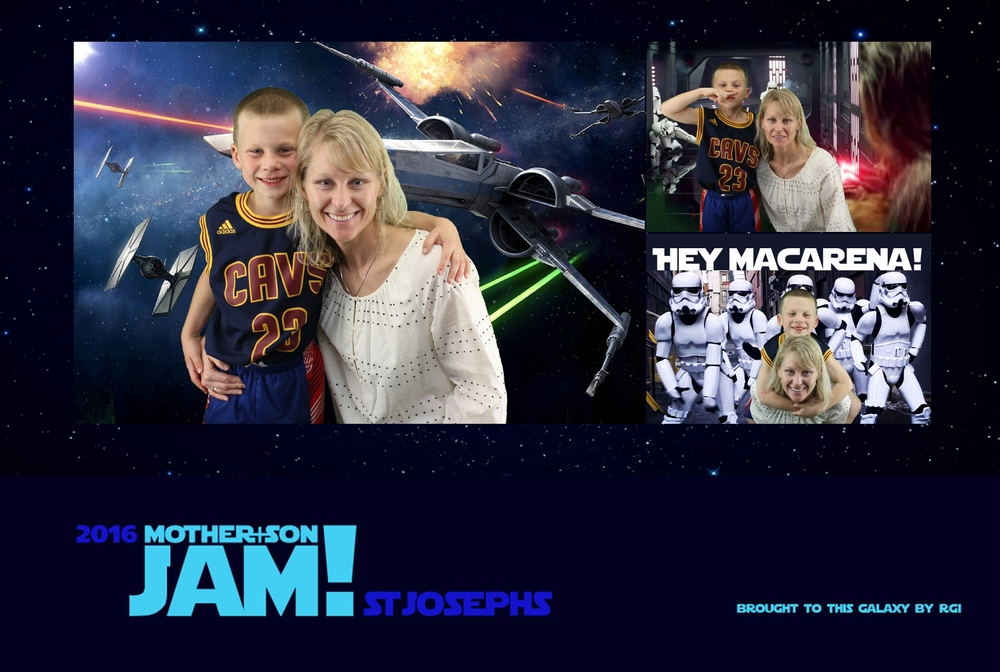 Saint Joseph Avon Lake Mother-Son Star Wars Jam 2016
