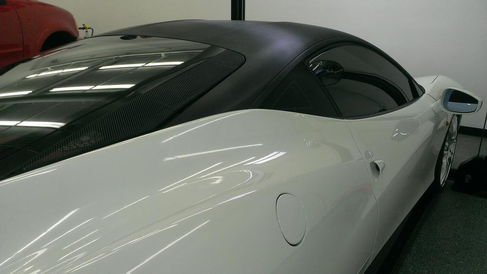 Ferrari 458   Carbon Fiber Roof