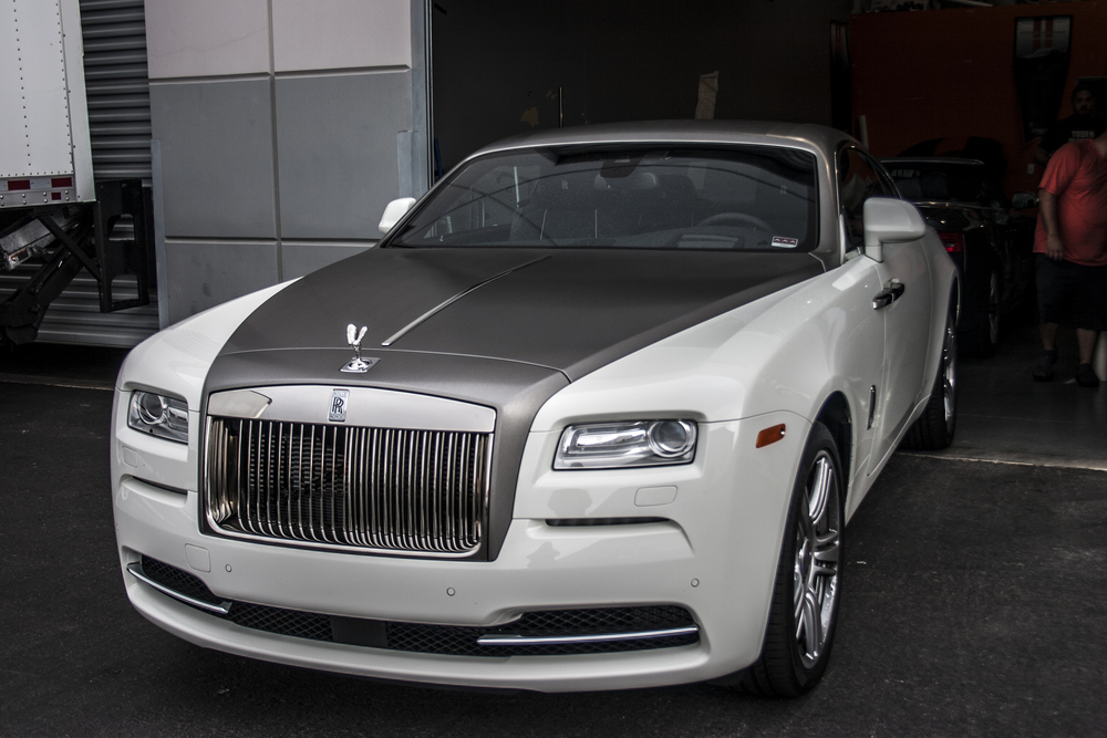 rolls royce wraith white and black. rolls royce wraith brushed steel white and black s