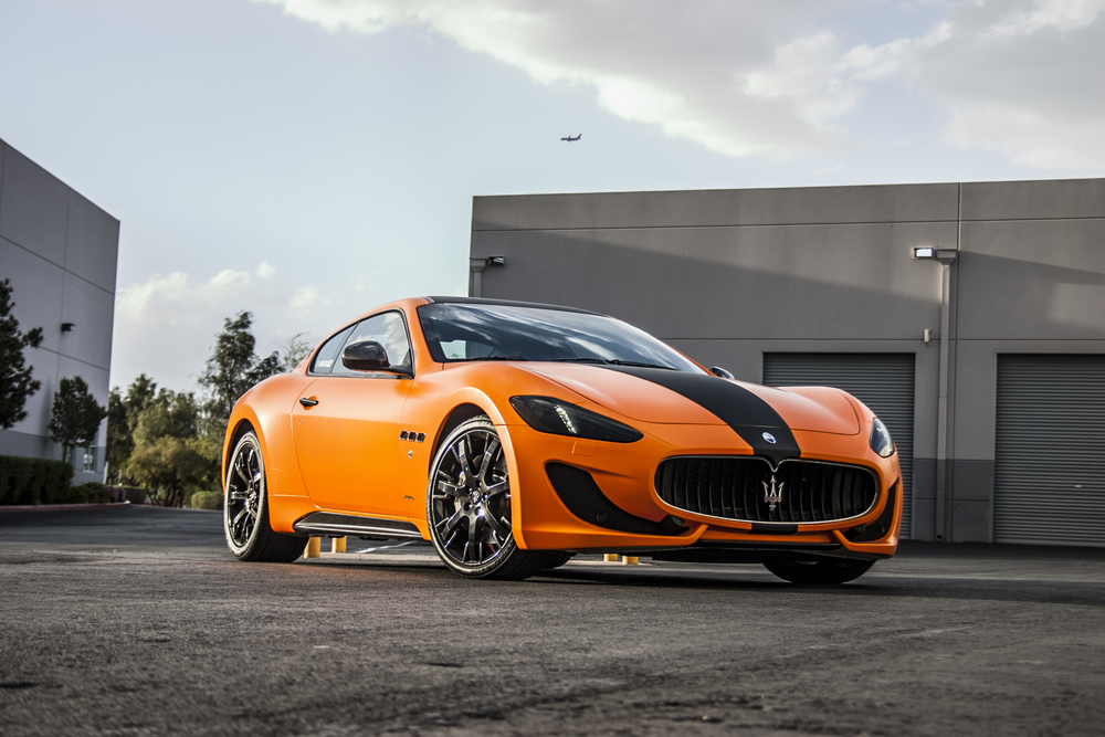 Red Window Tint >> Maserati Gran Turismo MC Sport - Custom Orange — Incognito Wraps