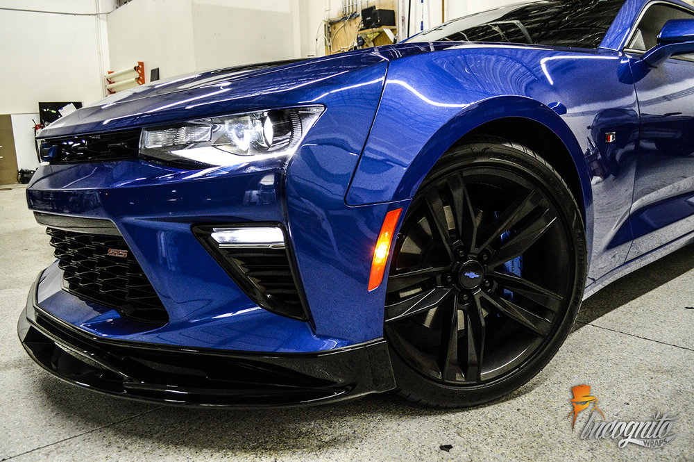 Chevy Camaro Ss Calipers Gloss Black Roof And More