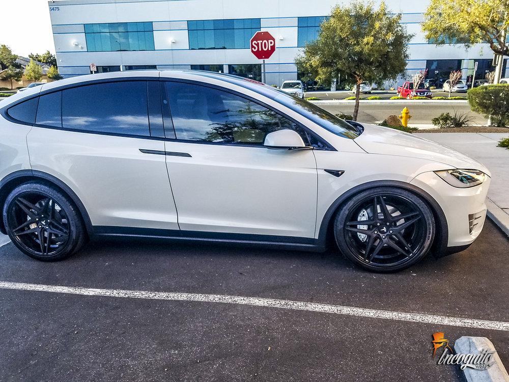 Tesla model x chrome delete