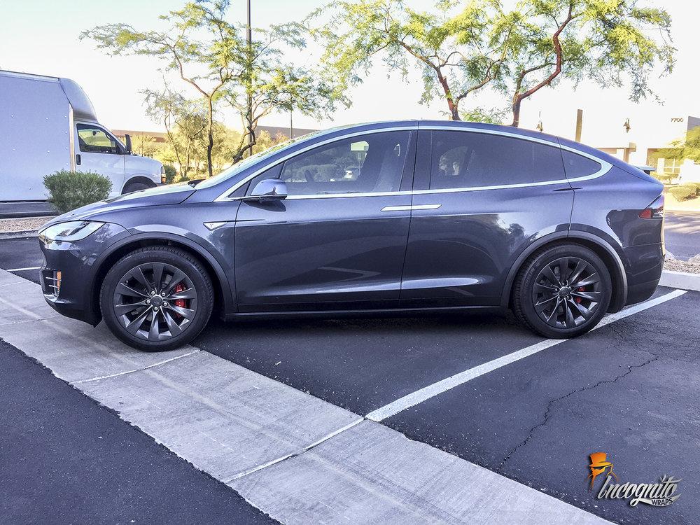 Tesla Model X Metallic Plasti Dip Incognito Wraps