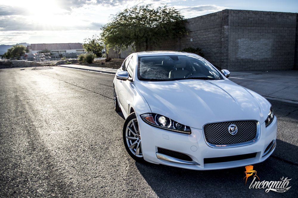 Jaguar XF Diamond White