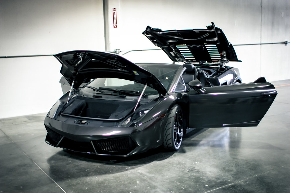 Laborghini Gallardo Metallic Black