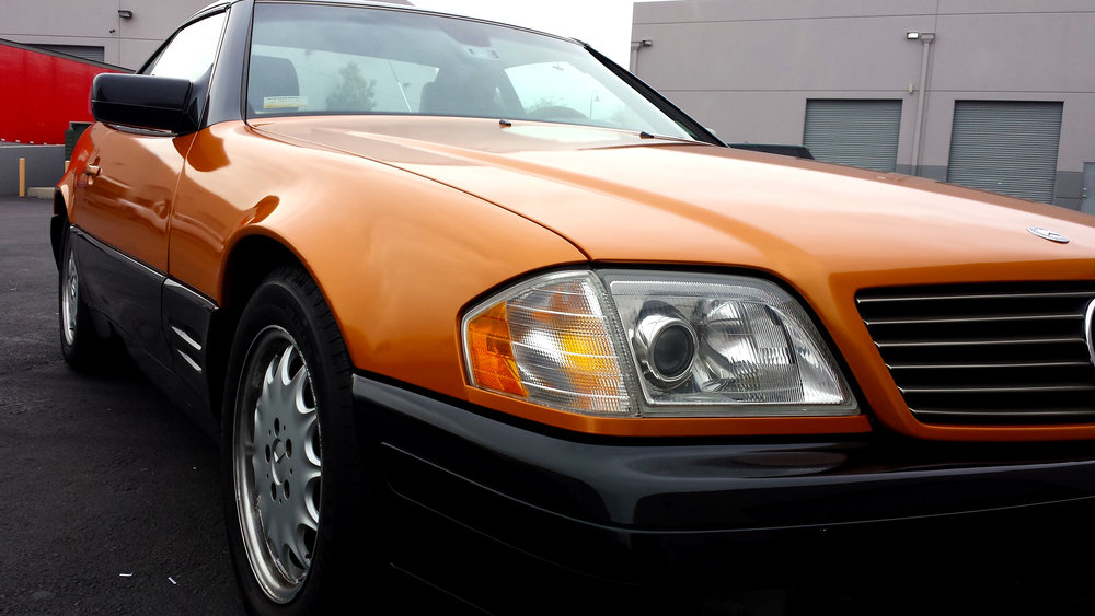 Mercedes SL 600 pearl orange