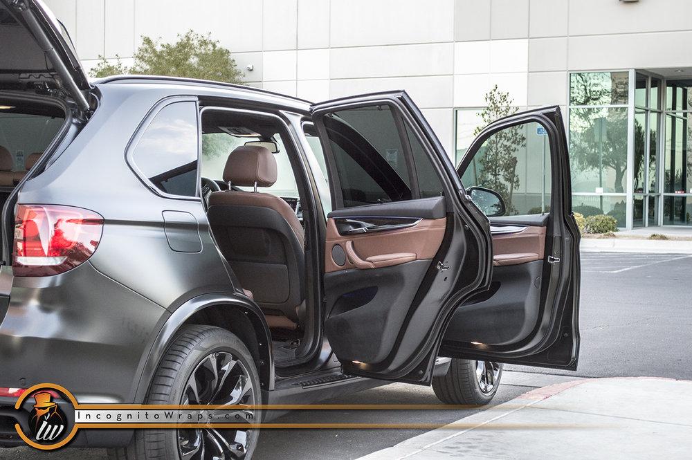 BMW X5 Satin Black