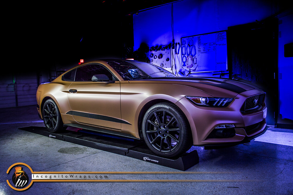 Ford Mustang GT Satin Caramel Luster