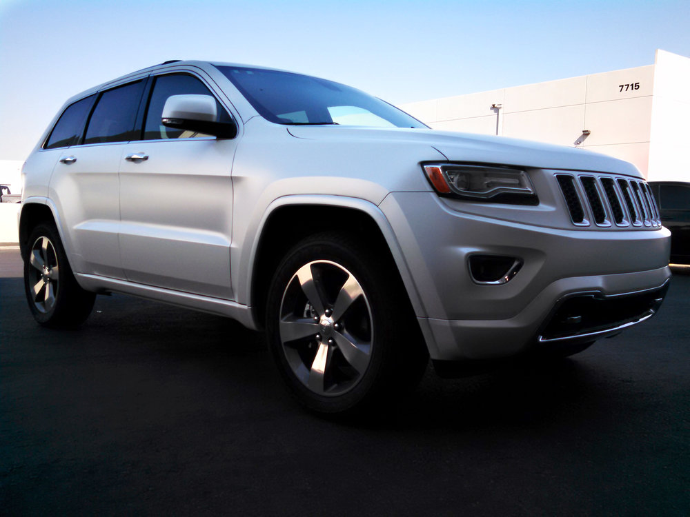 Jeep Grand Cherokee Satin Pearl White
