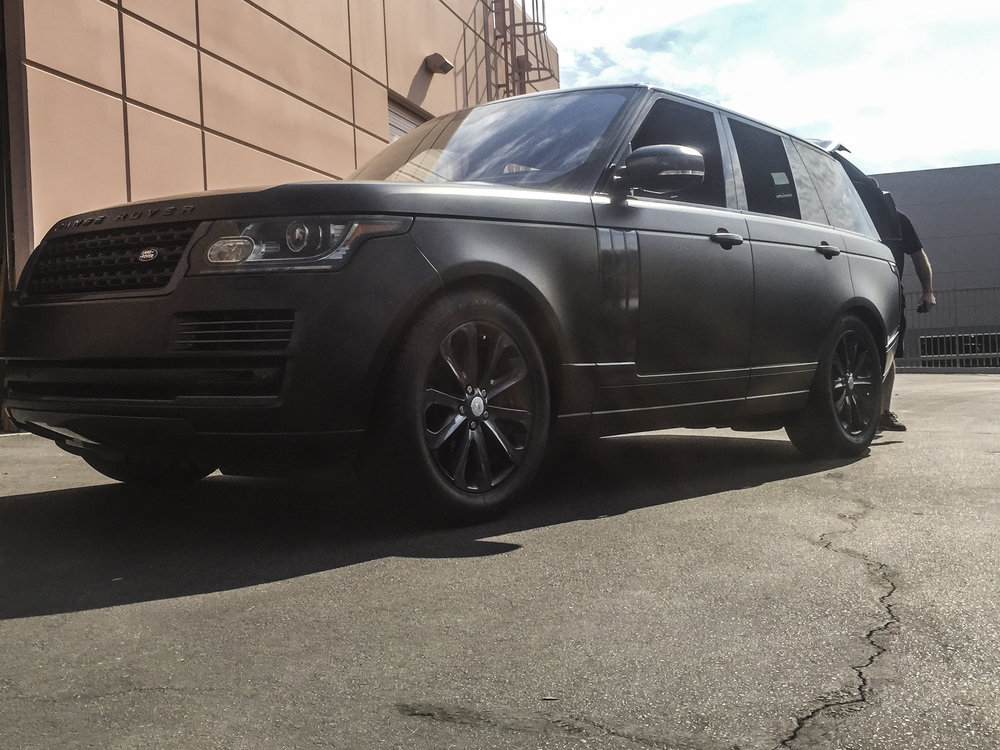 Range Rover Satin Black