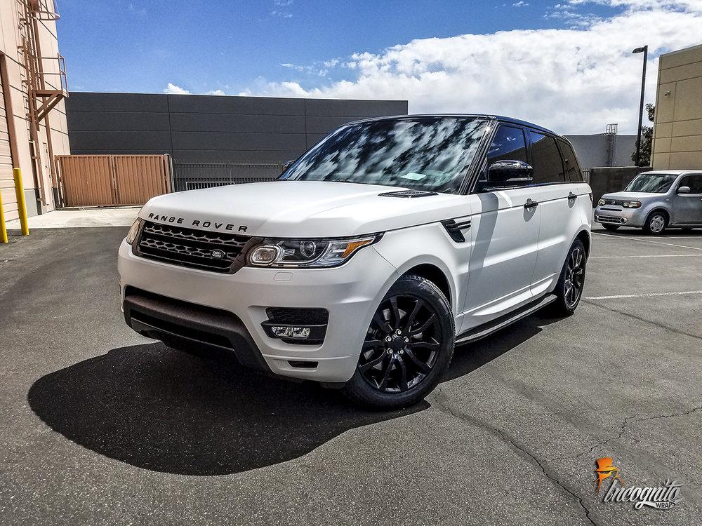 Range Rover Sport Satin White