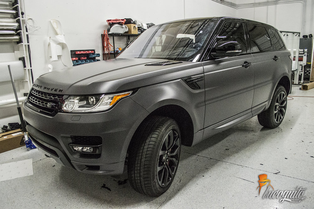 Range Rover Matte Anthracite