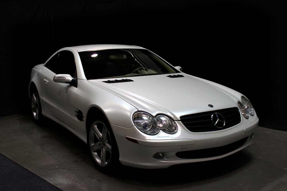Mercedes SL 600 Satin Pearl White