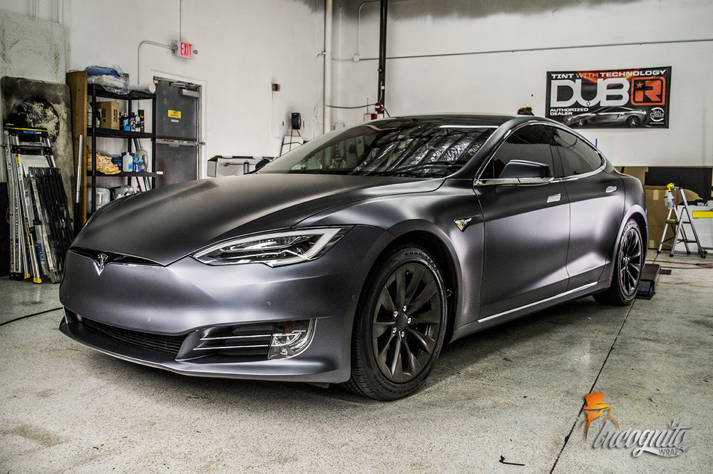 Tesla Model S Stealth Paint Protection Film Xpel