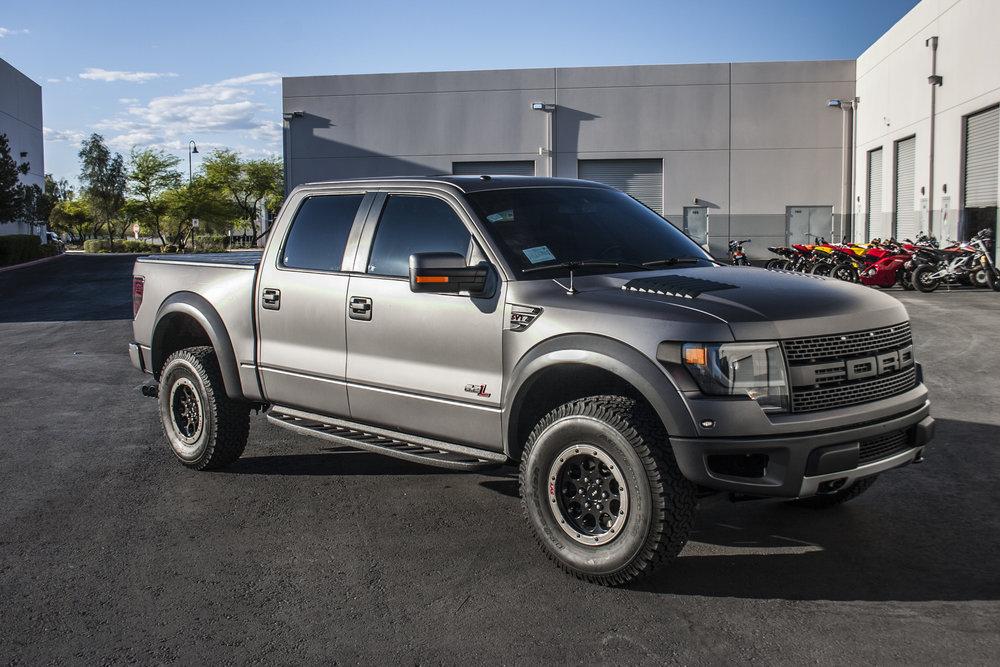 Ford Raptor Matte Charcoal Metallic