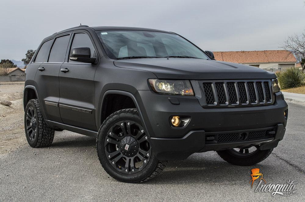 Jeep Grand Cherokee Matte Black